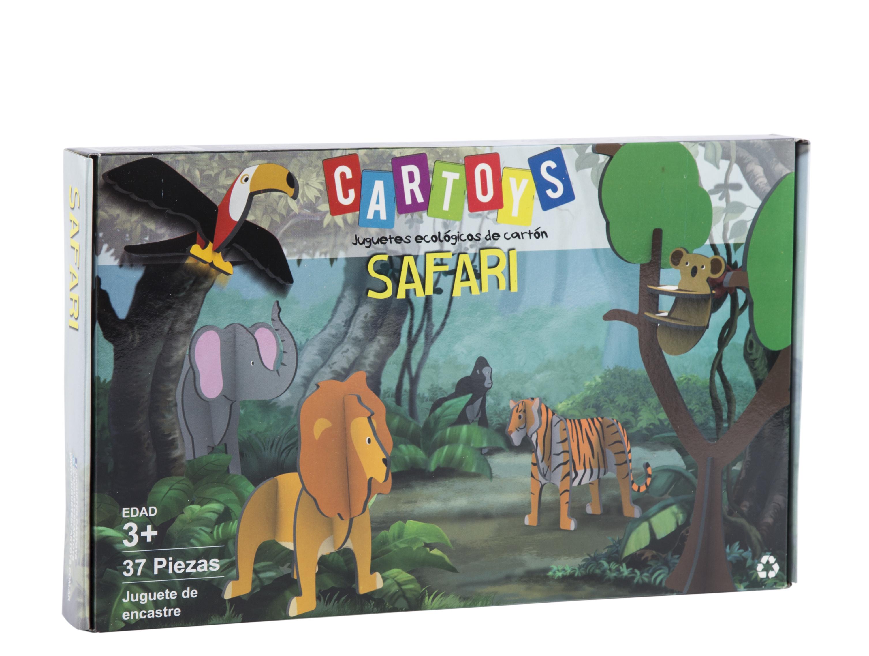 Rompecabezas 3d Safari